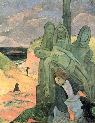The Green Christ - Image: Paul Gauguin 028