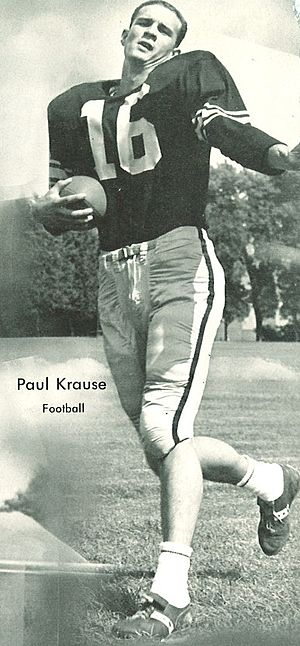 Paul Krause - Image: Paul Krause