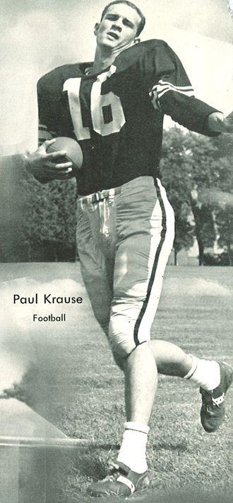 Paul Krause - Image: Paul Krause