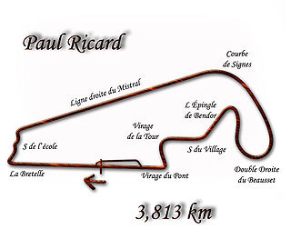 1989 French Grand Prix Formula One motor race held in 1989