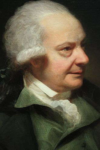 Paul Sandby - Paul Sandby by Sir William Beechey, 1789, National Portrait Gallery, London