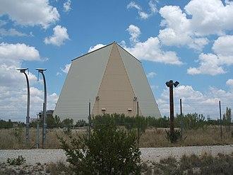 Eldorado Air Force Station - Former PAVE PAWS array at Eldorado AFS