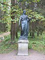 "Pavlovsk Park. Twelve tracks. Statue ""Urania""..JPG"