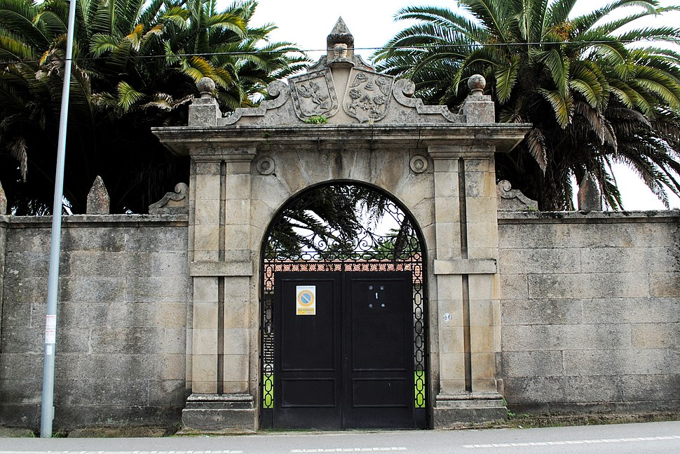 Pazo Urzáiz Cadaval, portal