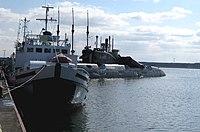 Peenemuende, Hafen, U461.JPG