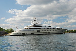 Luxury yacht - The yacht Pelorus in Copenhagen