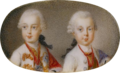 Pencini - Ferdinand and Maximilian of Austria - Hofburg.png