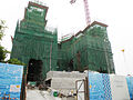 Peninsula East under construction in April 2015.jpg