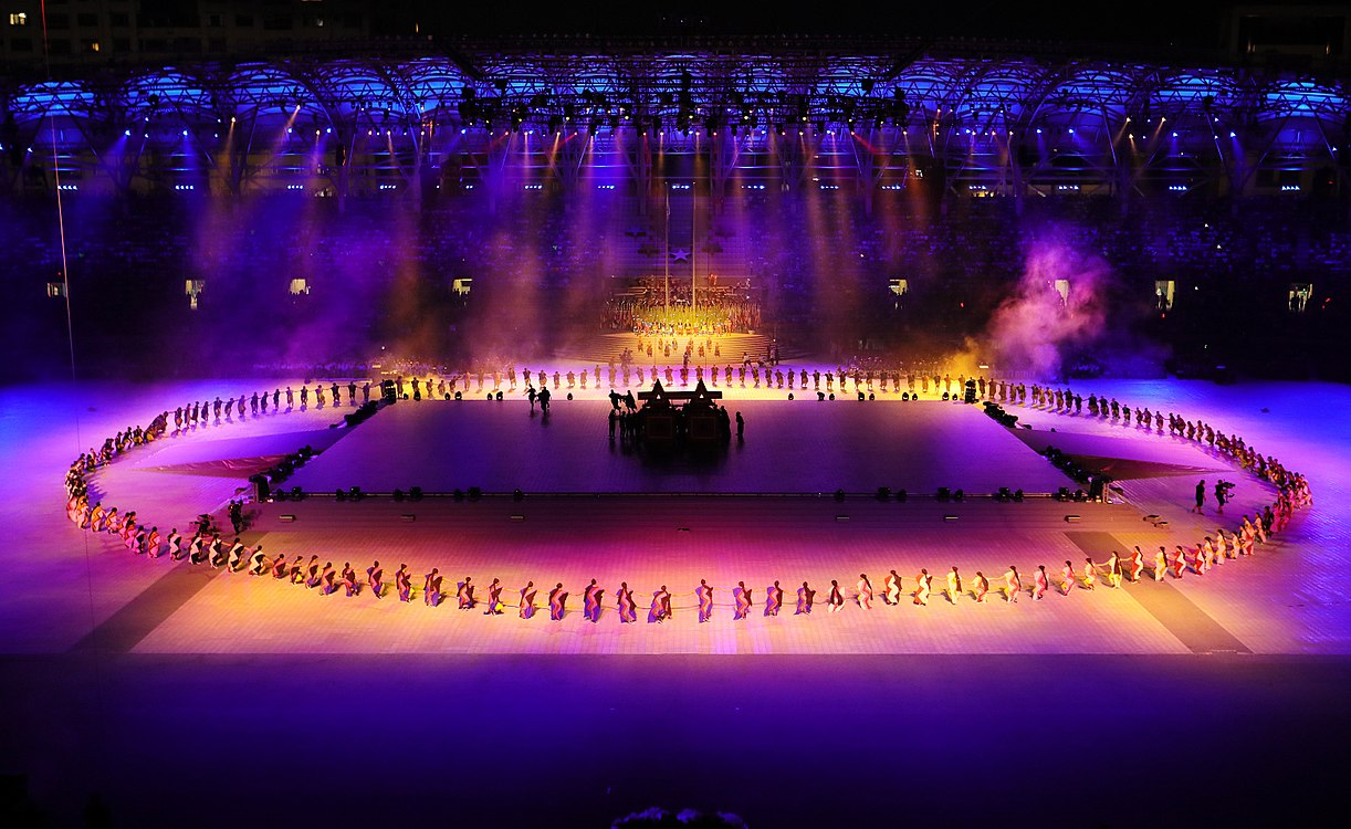 Performance on the Opening ceremony of the 2017 Summer Universiade.jpg