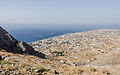 Perissa seen from ancient Thera - Santorini - Greece - 01.jpg