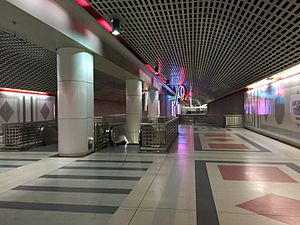 Pershing Square station - Mezzanine level