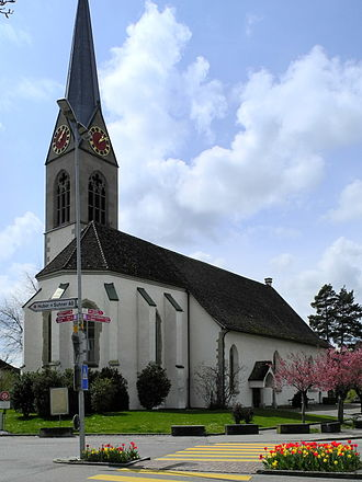 Pfäffikon, Zürich - Protestant church