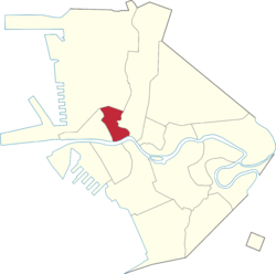Location within Manila