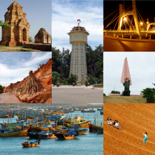 Phan Thiết City in Bình Thuận, Vietnam