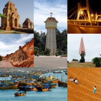 "Phan Thiết - ""Phan Thiet Water Tower"": symbol of Phan Thiet"
