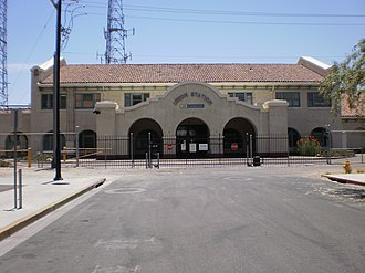 Winnie Ruth Judd - 2010 photo of Phoenix's Union Station, where Judd departed with the trunks for Los Angeles
