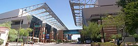 Phoenix Convention Center - South on 3rd St - 2009-07-06.jpg