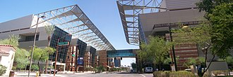 Arizona SB 1070 - Arizona's convention business, such as here at the Phoenix Convention Center, was a prime target of boycott efforts.