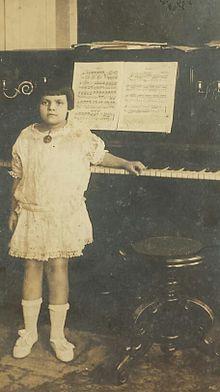 20d41c102b6 Maria Antônia de Castro enquanto criança.