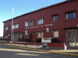 Pichilemu - The Pichilemu city hall, as seen in April 2011