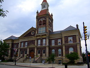 Pickaway County, Ohio - Image: Pickaway County Courthouse