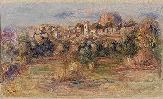 Landscape, La Gaude (Paysage, La Gaude)