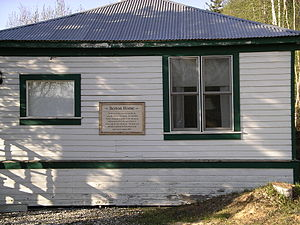 Pierre Berton - Pierre Berton's childhood home in Dawson City