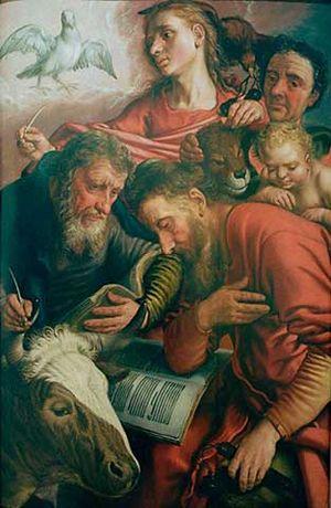 Suermondt-Ludwig-Museum - Image: Pieter Aertsen Die vier Evangelisten
