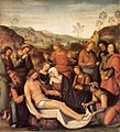 Pietro Perugino - The Mourning of the Dead Christ (Deposition) - WGA17271.jpg