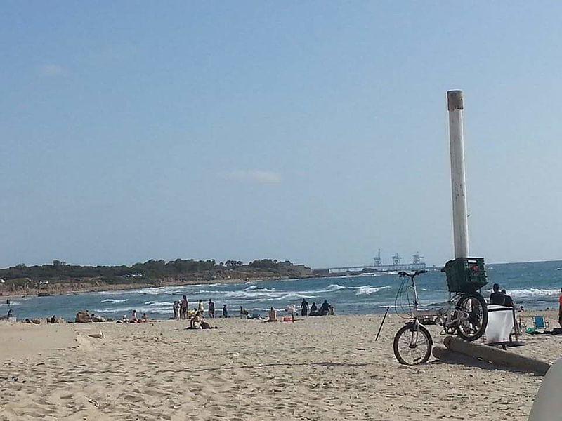 חוף בקיסריה