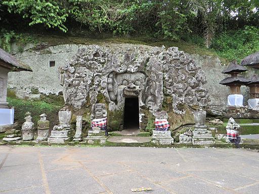 Pintu Masuk Goa Gajah
