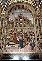 Pinturicchio, liberia piccolomini, 1502-07 circa, Enea Silvio incoronato poeta dall'imperatore Federico III 01.JPG