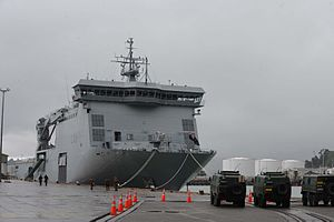 Pinzgauers lined up at Lyttelton Port - Flickr - NZ Defence Force.jpg