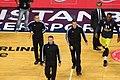 Piotr Pastusiak, Robert Lottermoser & Sreten Radovic Fenerbahçe men's basketball vs Real Madrid Baloncesto Euroleague 20161201.jpg