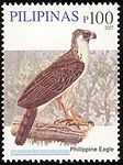 Pithecophaga jefferyi 2007 stamp of the Philippines.jpg