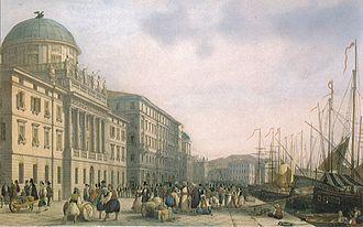 Trieste - Palazzo Carciotti in Trieste, circa 1850