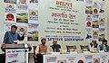 "Piyush Goyal addressing at the launch of the two books of Dr. Bibek Debroy namely ""Bharat Vapas Patari Par"" and ""Bharatiya Rail Desh Ki Jeevan - Rekha"", at a function, in New Delhi (1).jpg"