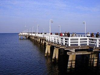 Pier in Sopot - The Sopot Pier
