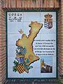 Placa del 750 aniversari de la conquesta de Gorga.JPG