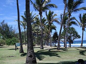 Petite-Île - Image: Plage de Grand anse