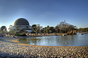 Parque Tres de Febrero - The City Planetarium.