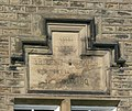 Plaque on the First School, School Lane, Emley - geograph.org.uk - 905595.jpg