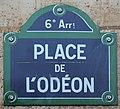 Plaque place Odéon Paris 1.jpg