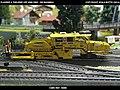 Plasser & Theurer USP 2000 SWS DB Bahnbau Kibri 16060 Modelismo Ferroviario Model Trains Modelleisenbahn modelisme ferroviaire ferromodelismo (13967206050).jpg