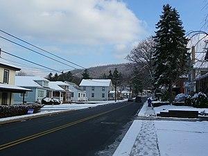 Pleasant Gap, Pennsylvania - Main Street (PA 144) - Looking southbound toward Mount Nittany