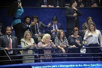 Free Brazil Movement - Holiday, Kataguiri, Bia Kicis, Carla Zambelli and Joice Hasselmann.