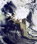 Plume of ash from the Eyjafjallajoekull Volcano.jpg