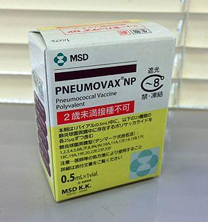 Pneumococcal vaccine vaccine against Streptococcus pneumoniae