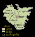 Podkarpackie - leżajski county gminas.png