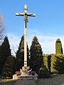 Podlaskie - Sokoły - Waniewo - Kościół Wniebowzięcia NMP 20120324 09 krzyż.JPG